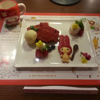 マイメロのパウンドケーキ♡ マイメロ