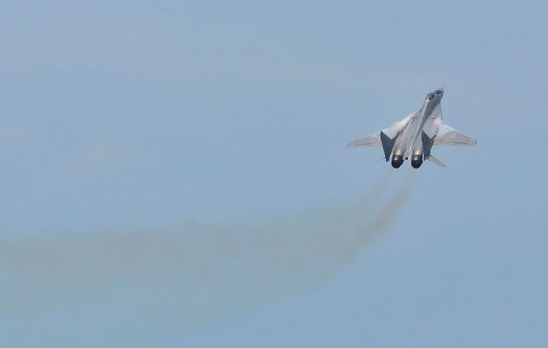 Air supremacy Negative Space MiG29 Check This Out