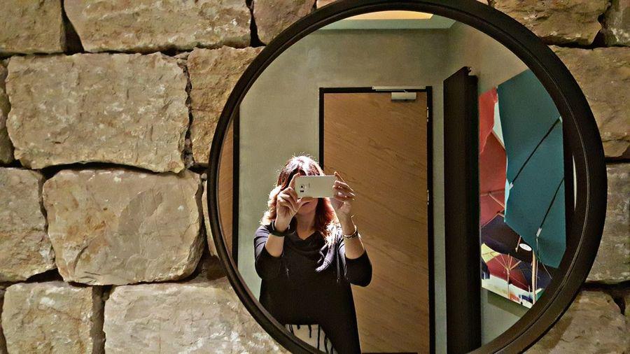 Midpoint Midpointcafe Mirrorselfie Mirror Picture Mirrorshot Mirrorphoto Aynadaki Ben Aynaphotography Aynaayna Aynaaynasöylebana The Wall Stone Wall Stone Walls