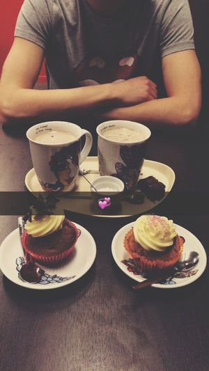 Candy Store Hot Chocolate Cupcakes Love