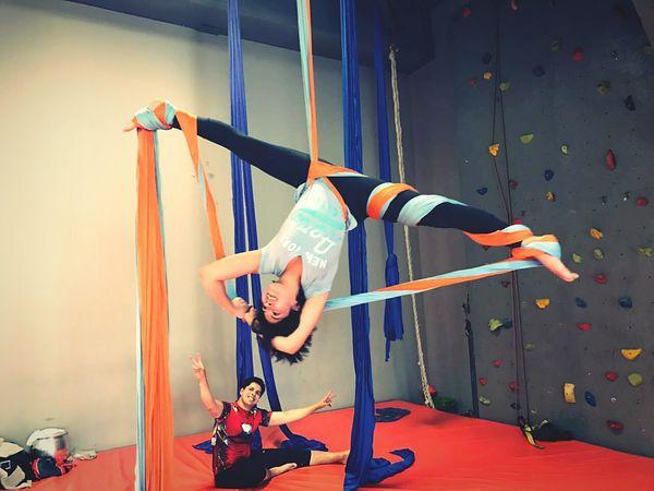 Lifestyles Danza Aerea Danzaaerea Acroyoga Flexible Fitnessmotivation Smile :)