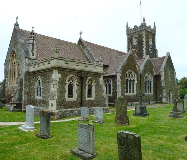 Sandringham Church Architecture Graveyard Beauty Church