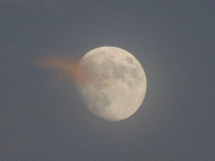 月齢11.43 OLYMPUS SH-50 Moon