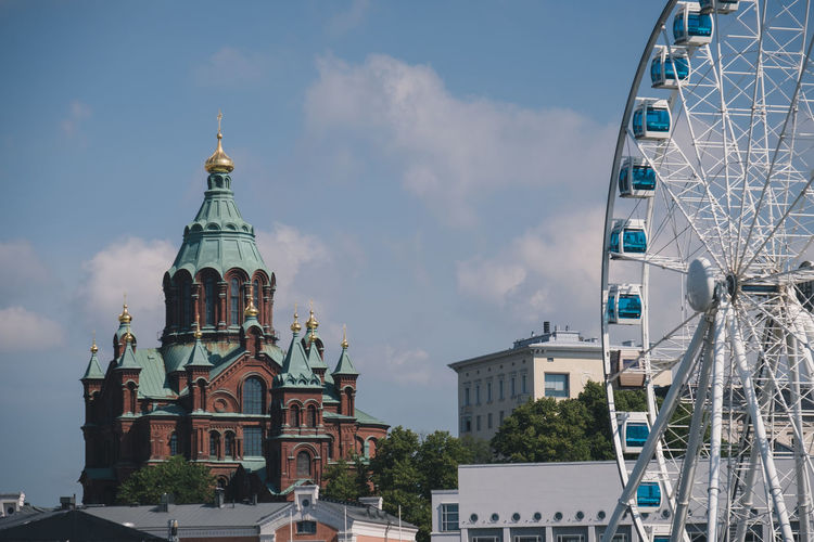 Architecture Baltic Church City Ferris Wheel Finland Nature Nature Photography Old Town Building Building Exterior Europe History North Outdoors Road Trip