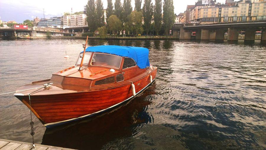 Stockholm Water Boat