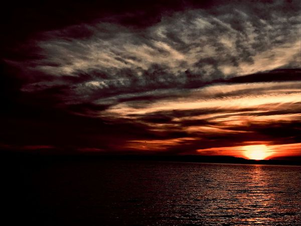 Inas Sunset Sky Cloud - Sky Water Scenics - Nature Beauty In Nature Sea Sunset Dramatic Sky Orange Color No People Tranquility Tranquil Scene Horizon Over Water Outdoors Silhouette Idyllic Nature Waterfront Sky Cloud - Sky Water Scenics - Nature Beauty In Nature Sea Sunset Dramatic Sky Orange Color No People Tranquility Tranquil Scene Horizon Over Water Outdoors Silhouette Idyllic Nature Waterfront