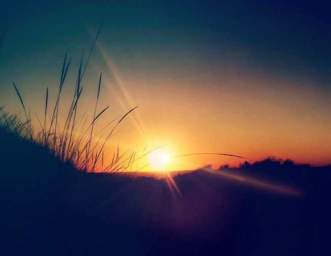 Summer Style Beach Sunset Beach Photography Beauty In Nature Sunset Sun Silhouette Nature Sky No People Sunlight Tranquil Scene Scenics Outdoors Landscape
