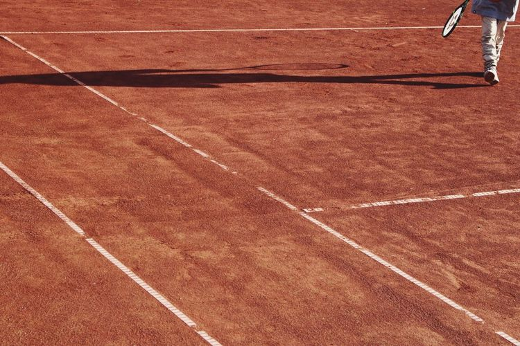 Always around with my 📸 Summer Evening TheWeekOnEyeEM Youth Of Today Tenniscourt Shadow Lines Geometric Shapes The Following The Color Of Sport