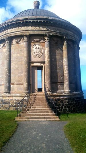 Temple. Architecture Built Structure Sunlight Dome Travel Destinations Building Exterior History Sky Outdoors No People City Day Gazebo Travel Photography Ireland🍀 Nature Irish Beauty In Nature Coastline Cloud - Sky