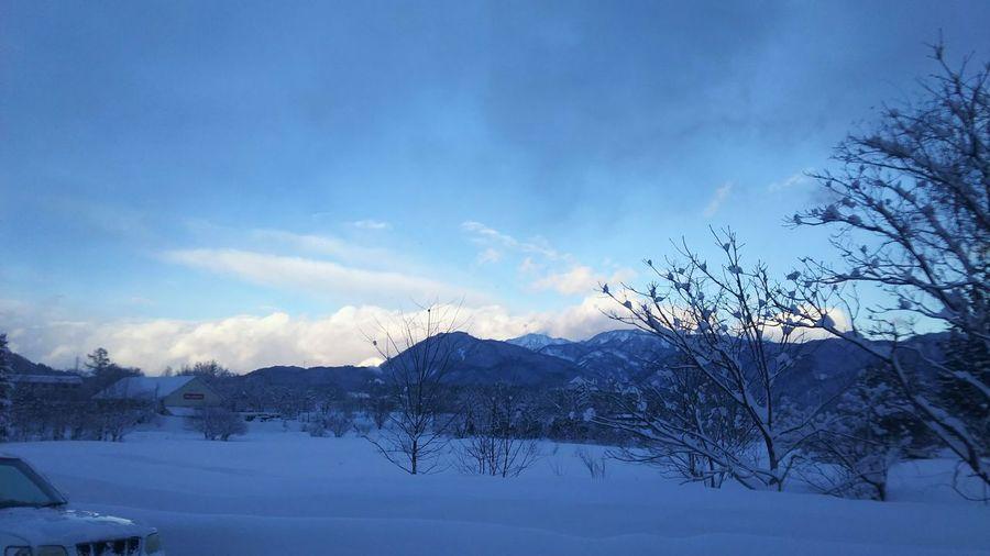 白馬の冬 白馬 冬 雪 雪景色 Snow Winter Hakubavillage