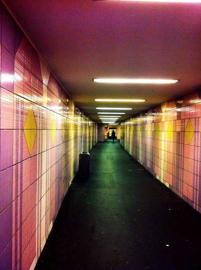 Underground at Kurfürstenstr. Underground