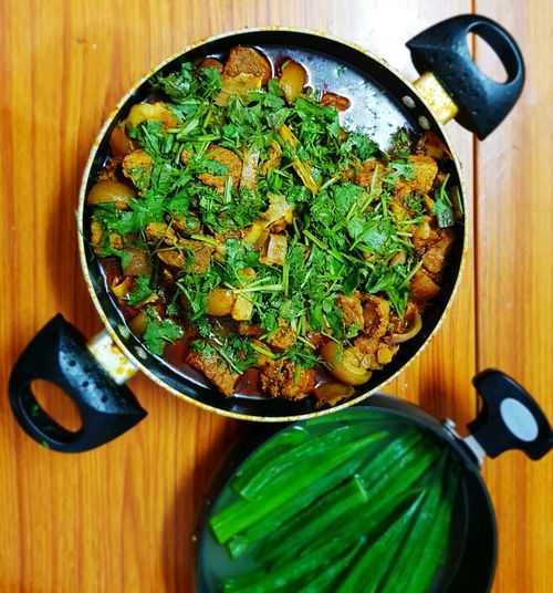 Pork Meat Naga Dish HostelLife NIT Manipur Healthy Eating