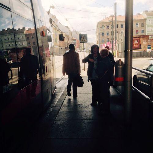 Snapshots Of Life OpenEdit Tram Station People Waiting Urban Streetphotography