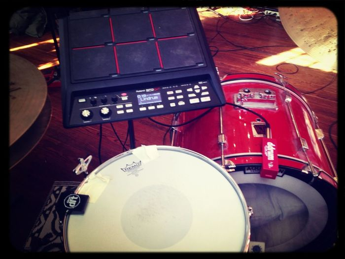 NYE Rehearsal With Wild Cub. Prince Covers Require Drum Triggers!!