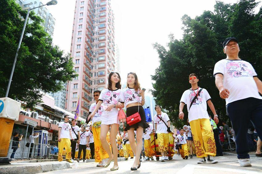 誰領風騷 - Dragon dance parade Relaxing Enjoying Life Dragon Dance Parade Showcase April Things I Like EyeEm Gallery EyeEm Masterclass Hello World Yuen Long Hong Kong