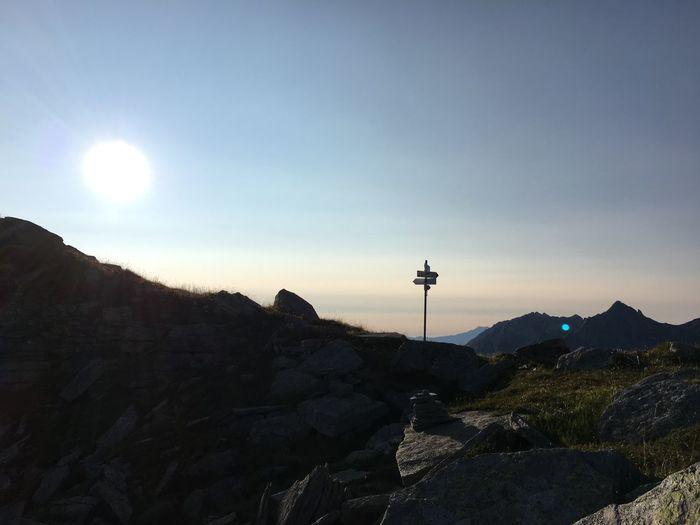 Trailrunning Passo delle Possette Trailrunning Alpe Veglia Monte Leone Ossola Mountain Pass Mountains Passo Delle Possette