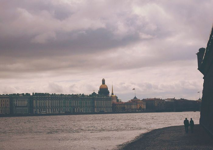 Saint Petersburg Neva Travel Destinations People Day Water City