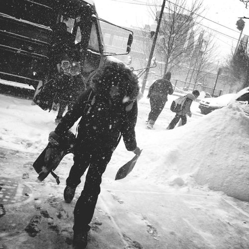 snow days Chicago Blizzard 2013 Photojournalism