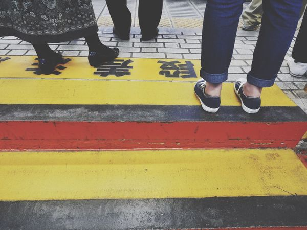 Watch out the step/段差 Train Station Platform Steps People Snapshots Of Life LUMIX DMC-GX7