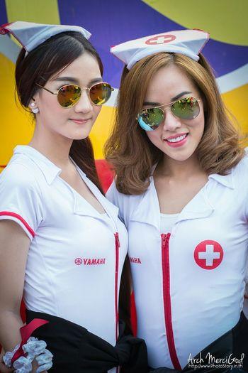 Run For Your Lifes Thailand http://www.photostory.in.th http://fb.me/ArchMerciGod Sexygirl Modelgirl Yamaha Nurse RFYL Rfylth RFYLasia Portrait