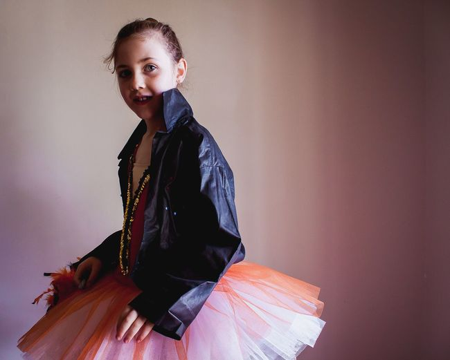 Dress up Girl Ballet Tutu One Person Clothing Indoors  Wall - Building Feature Traditional Clothing Real People Lifestyles