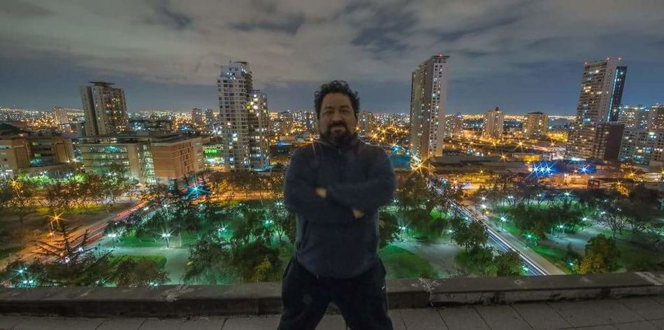 Myself. City Cityscape Night One Man Only Cloud - Sky Urban Skyline One Person Illuminated Outdoors Building Exterior Architecture Architecture City Park Skyline Panoramic DSLR Aerial View Pentax K-3 Santiago Chile Pentax Pentaxian Pentaxero