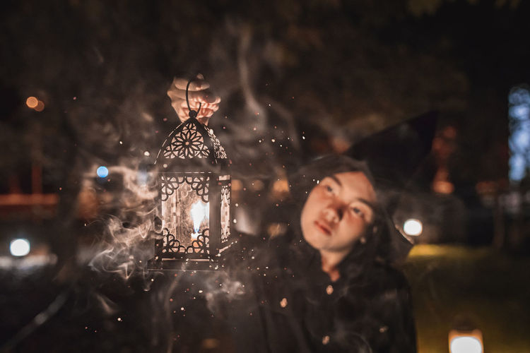 All I see is magic.🔮🎃 Night Illuminated Child Celebration Childhood Focus On Foreground Portrait Front View Winter Holiday People Christmas Selective Focus Males  Offspring Real People Cold Temperature Leisure Activity Nature Warm Clothing Snowing Outdoors Innocence Halloween Celebration