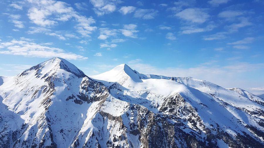 Bansko Snow Mountain Sky Outdoors Cold Temperature Winter Skiing Banskoskicenter
