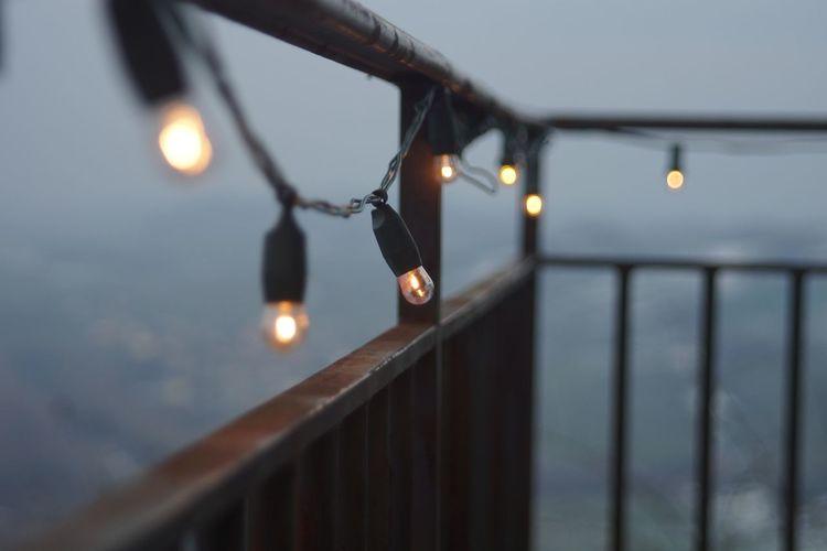 Light Fog Winter Wintertime