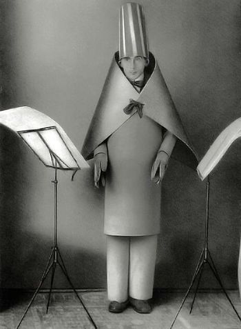 Hugo Ball, Dadaist Poet Poetry Artist Dadaism