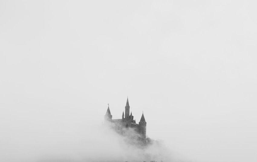 Blackandwhite Burg Hohenzollern Castle Frog Germany Hohenzollern  Imaginary Mystery