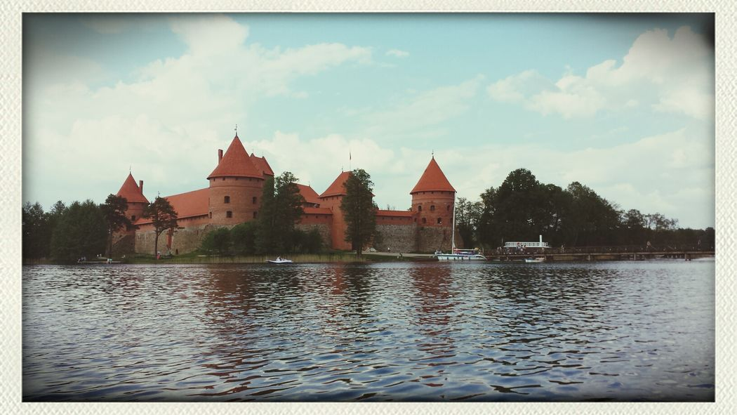 Traveling Trakai Historical Building Castle