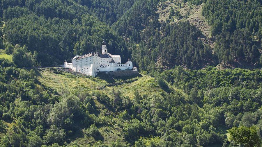 Mals Italien Monastery Historical Kloster Abtei Marienberg