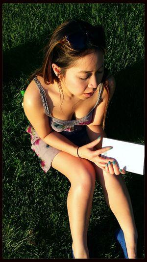 When your skin glows. Sunbathing Hands Legs Light Reading