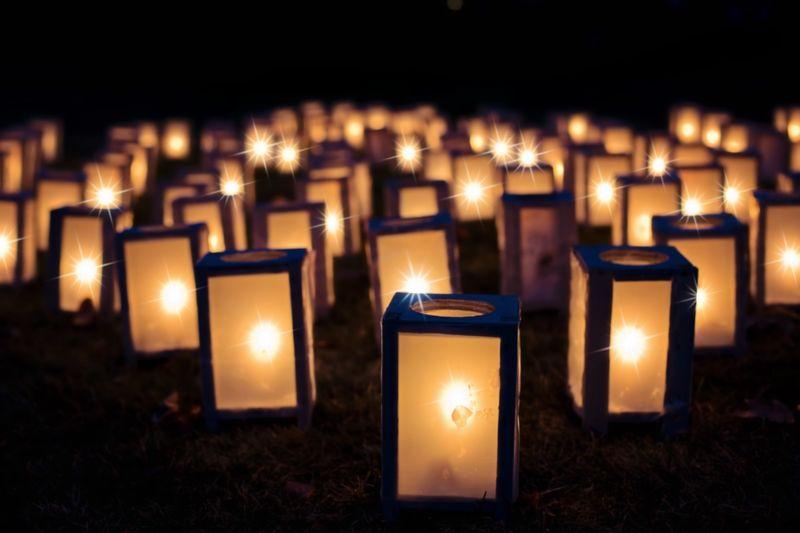 Lights that awaken Lights Wishinglantern Night