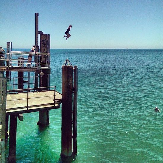 Summer Adelaide Glenelg Beach Austrya