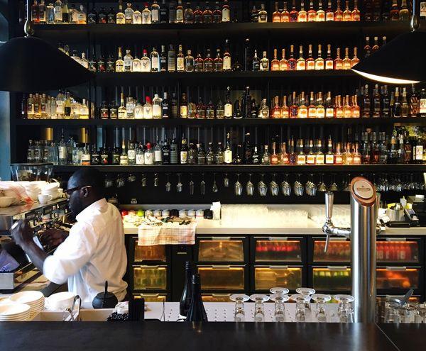 Bar Scene in Amsterdam