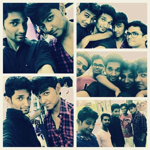 Instaedit !! Instacraze !! A_day_out_wd_ma_buddies ! Aftr all.. itz yu ppl who make ma day funfilled! 11to11 grill more_more bask_rob_wait..grrr! selfiecraze.. luvvv yu all guyz!! Muahhh!!