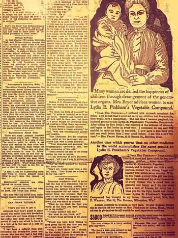Background Ink No People Text Retro Style Old Old Newspaper Old Newspaper Newsprint Yellowed 1900s Faded Damaged Drawing People