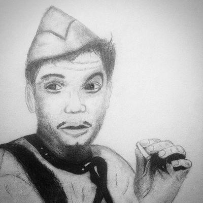 Cantinflas Dibujo Lapiz