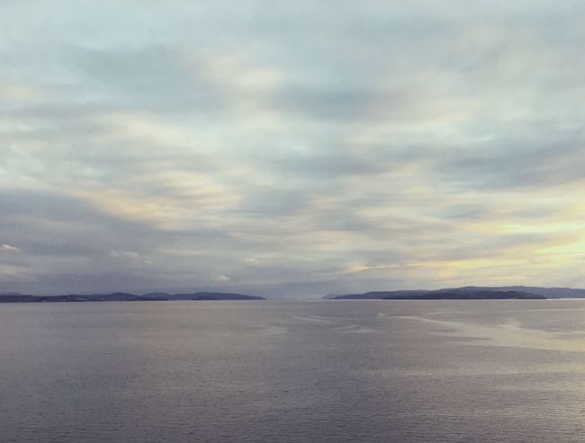 My view from the train window. Absolutely stunning. Sunset Beautiful Tranquility Epic Majestic Sea And Sky Sea Seascape Horizon Clean The Great Outdoors - 2016 EyeEm Awards