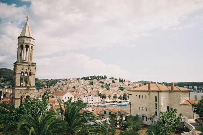 hvar EyeEmNewHere 35mm Film Ishootfilm Film Analogue Photography Filmisnotdead Film Photography Island Hvar Croatia Architecture Building Exterior Built Structure Outdoors Sky No People Day City EyeEmNewHere