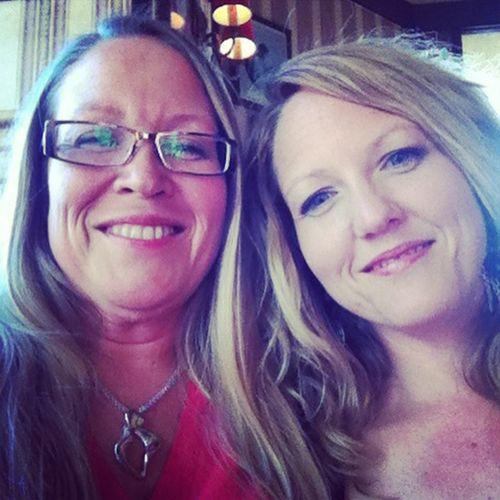 Min syster och jag!
