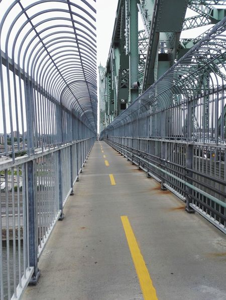 Bridge - Man Made Structure Built Structure Architecture The Way Forward Day No People Outdoors City Sky Bike Lane Bike
