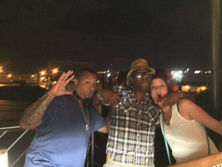 My good friend Jesse(rap legend SchoollyD) performing last night at my party. HappyBirthdayToMe June6 LaDolceVita MyExoticFriends