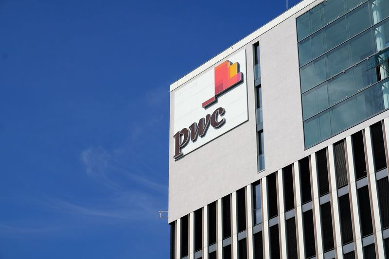 Berlin, Germany - August 17, 2017: PwC logo. PricewaterhouseCoopers is a multinational professional services network, the second largest professional services firm in the world Accountancy Economy Firm Logo Multinational PwC Services Accountant Accounting Advertisement Advisory Assurance Audit Bitcoin Blockchain Consultation Consulting Cryptocurrency Marketing Network Professional Symbol