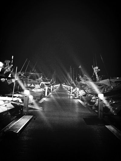 Nightphotography Blackandwhite Monochrome Night Lights