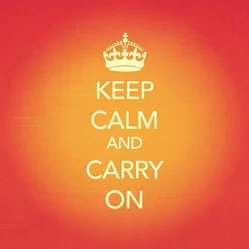 So depressed but still have to Keep_calm and Carry_on