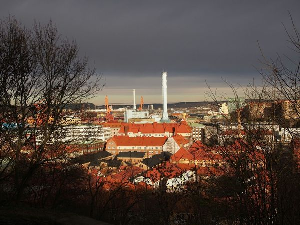 A view over Haga Over The Rooftops Light And Shadow This Is My Town Gothenburg No Edit/no Filter Showcase: November