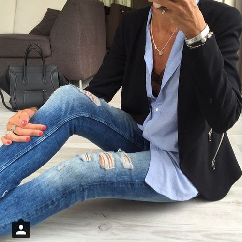 Banso Frankrike Style Woman Fashion Class Street Fashion Check This Out Models Anne So